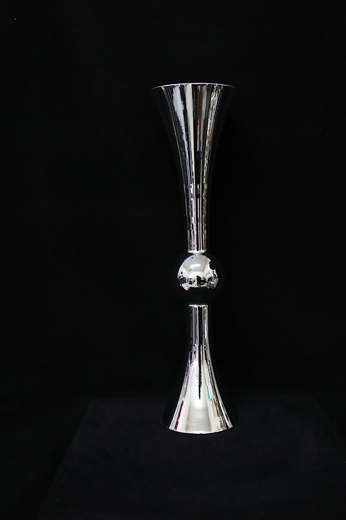 """24"""" Silver Glass  Reversible Trumpet"""
