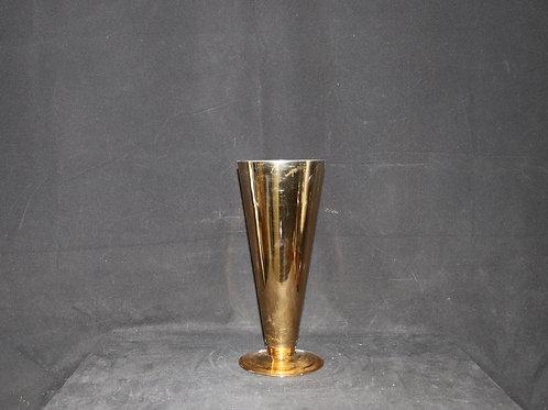 """12"""" Glass Trumpet-Cone vase"""