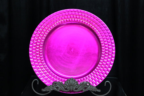 """Graph Texture Charger Plate 13"""""""