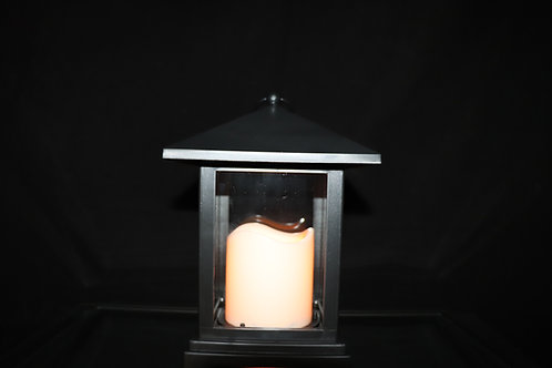 Lantern with LED Candle HT909