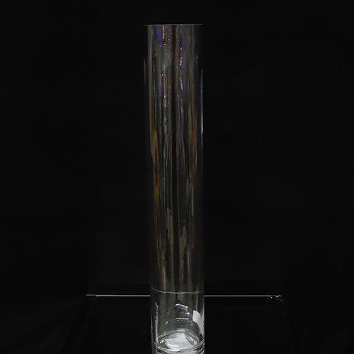 "3x24"" Tall Cylinder glass vase"