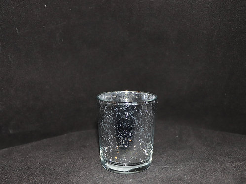 Silver Votive Candle Holder 2x2.8""