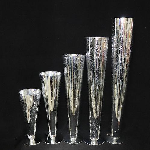 Mercury Silver Glass Trumpet-Cone