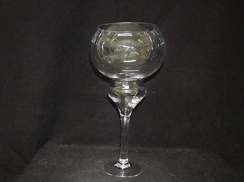 "20"" Glass Bowl w/Stand"