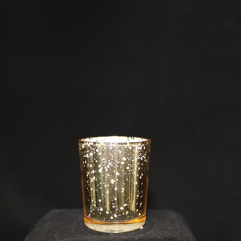 Champagne Votive Candle Holder 2x2.8""
