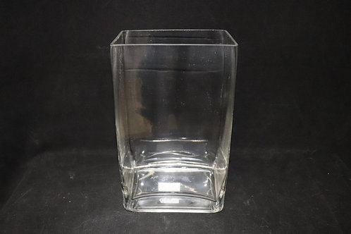 "Glass Tall Rectangle 4x6x10"""