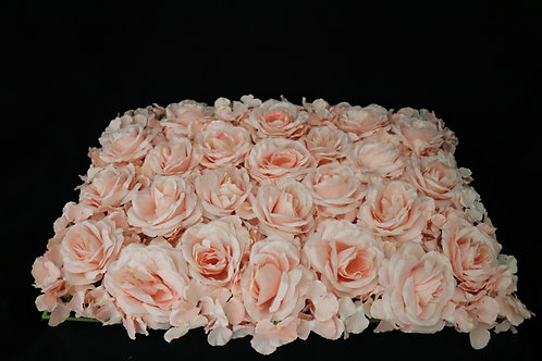 Blush Rose & Hydrangea Panel