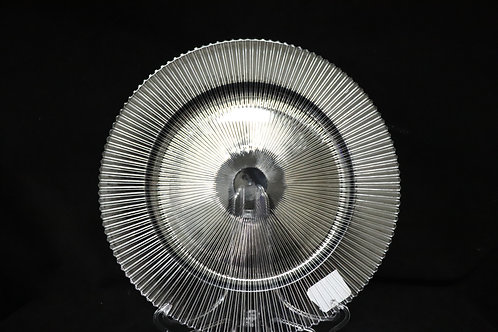 """Clear Sunray Plastic Charger plate 13"""""""