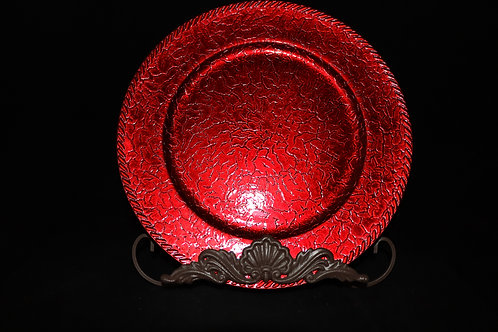 Cracked Charger Plate 13""