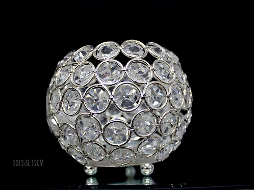 """5"""" Beaded Bowl Candle Holder"""