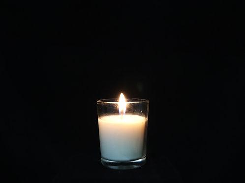 "2.5"" White Votive Candle"