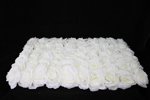 Cream Fabric Rose Panel