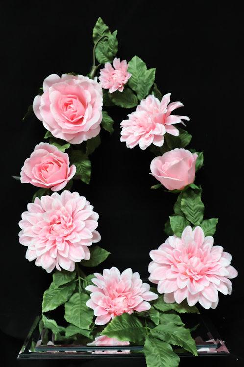 Mix Flower Garland - Pink