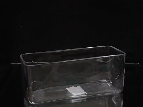 """4x10x4"""" Rectangle Vase"""