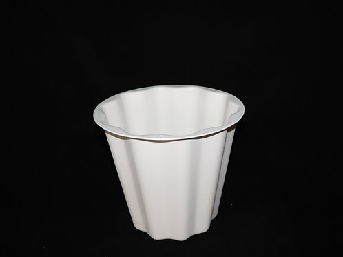 FS-500A-Wht  Floral Container