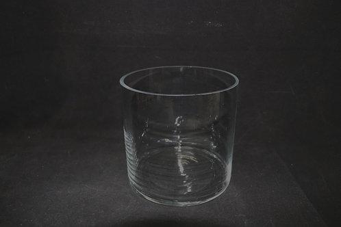 "6"" Opening Cylinder glass vase"