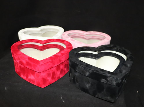 Velvet Heart Box