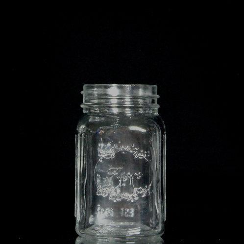 "3x5.5"" Clear Mason jar NO LID"