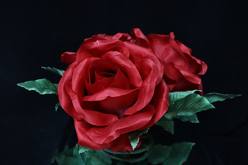 Red Rose Bouquet w/ ring base