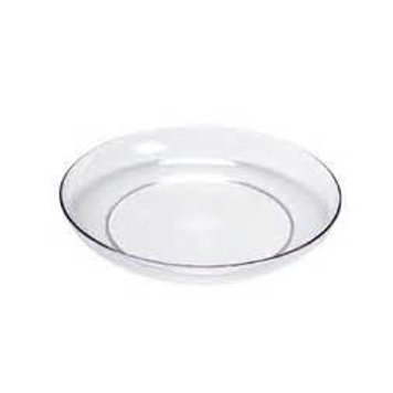"""7"""" Clear Floral Dish"""