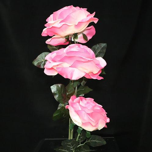 Fabric Rose 3head 1.2mts