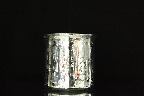 "5"" Mercury Cylinder Glass vase"