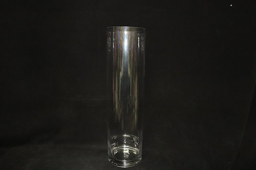 "5x18"" Cylinder Glass vase"