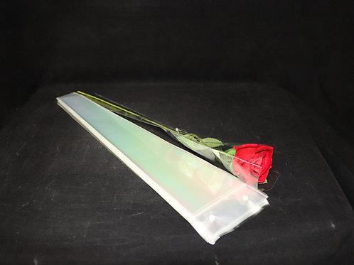 "4"" Clear Single Flower Sleeve"