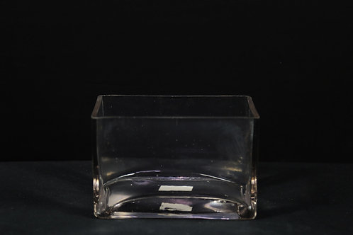 "4x6x4"" Rectangle Vase"
