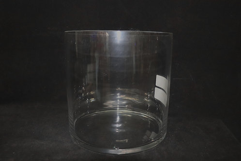 "10x10"" Cylinder Glass Vase"