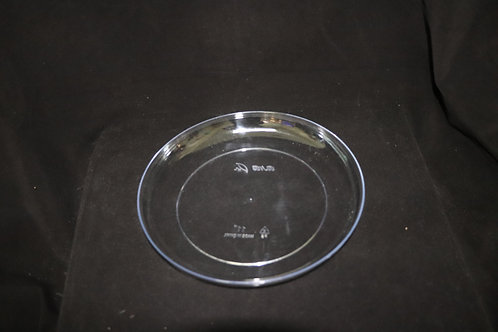 """9"""" Clear Floral Dish"""