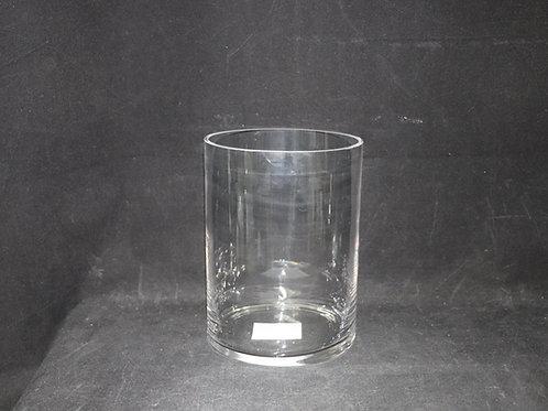 "6x8"" Cylinder Glass vase"
