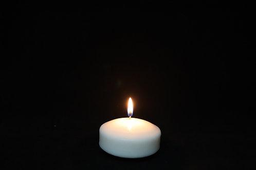 """3"""" Ivory Floating Candle"""