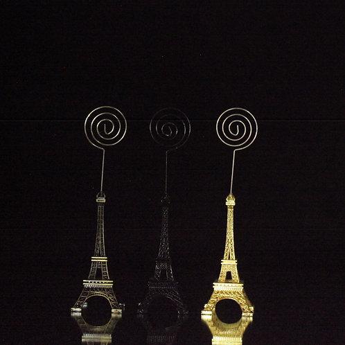 "Eiffel Tower Card Holder  6.5"""