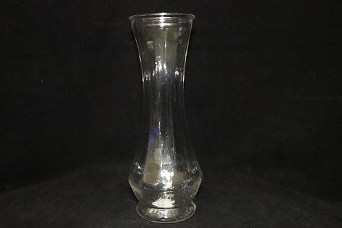 """3x9"""" Mini Ribbed Glass Vase"""