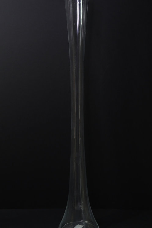 "32"" Glass Tower Vase"