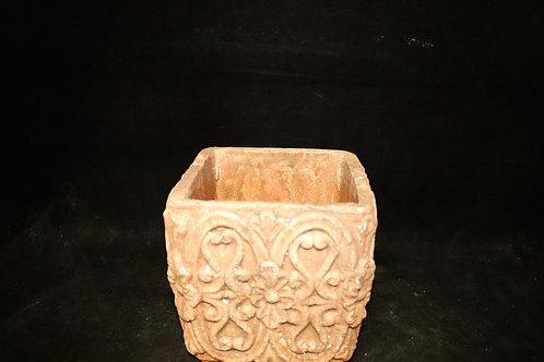 """Antique Ceramic Square 5x5"""""""