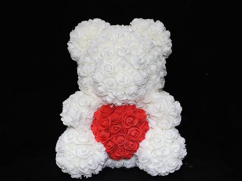 37cm Foam Flower Teddy Bear