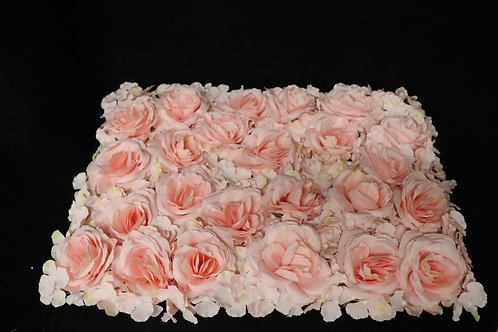 Esbrush Rose & Hydrangea Panel