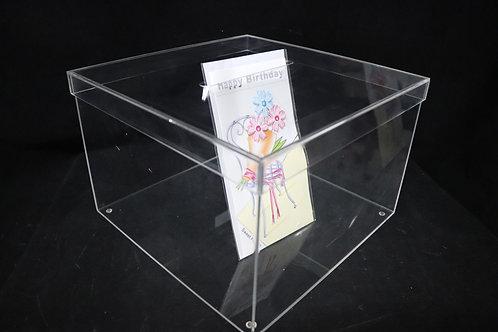 "Acrylic Money Box 12x8"""