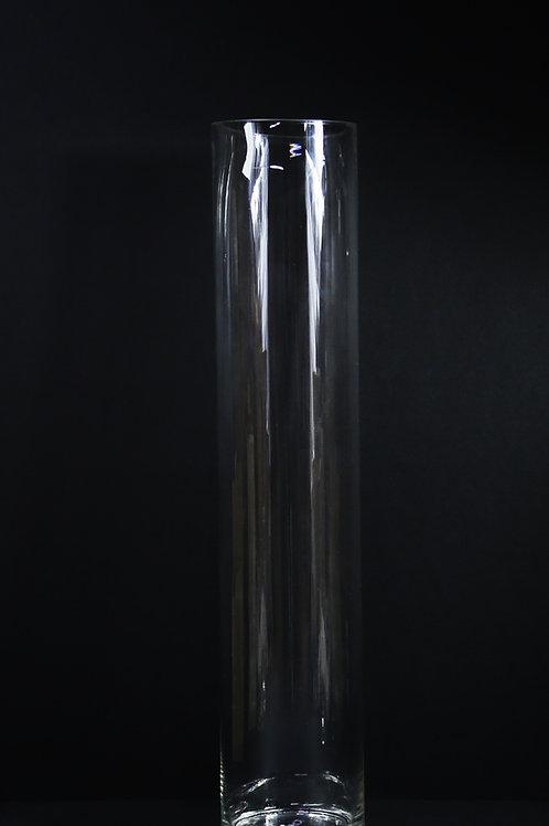 "6x32"" Tall Cylinder Glass Vase"