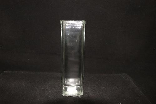 """Square Glass Vase 2.5x7.5"""""""