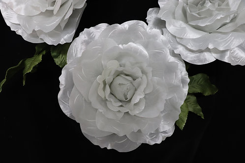 Rose Garland - Silver