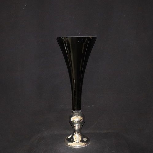 "28"" Trumpet Glass Vase"