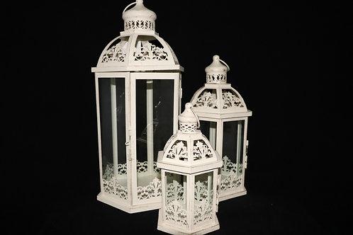 Vintage Metal Lantern Set HY1560