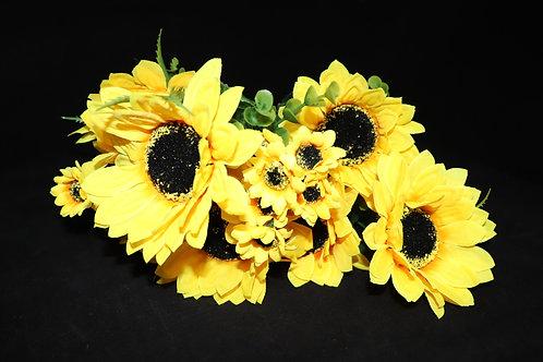 Sun Flower Bunch w/10heads