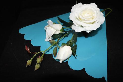 "16"" Turquoise Flower Sleeve"