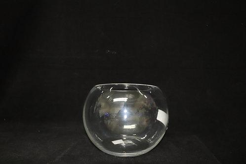 "10"" Glass Bubble Bowl"
