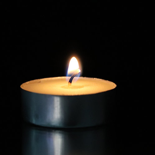 Ivory Tealight Candle 1,200 pcs