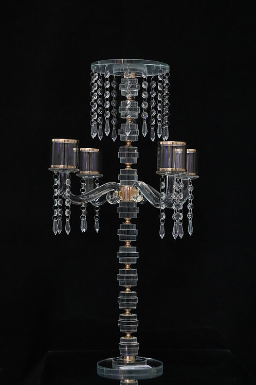 Crystal Chandelier with 4 arms